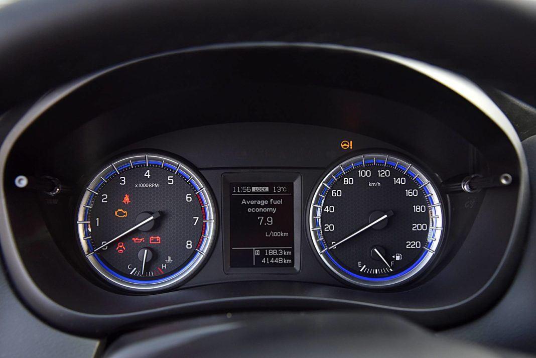 Suzuki SX4 S-Cross – wskaźniki
