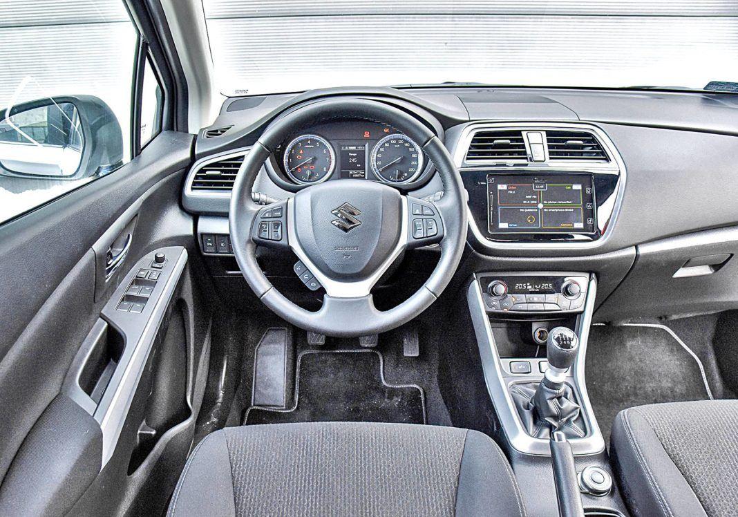 Suzuki SX4 S-Cross – deska rozdzielcza