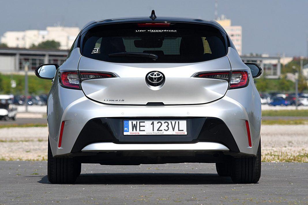 Toyota Corolla – tył