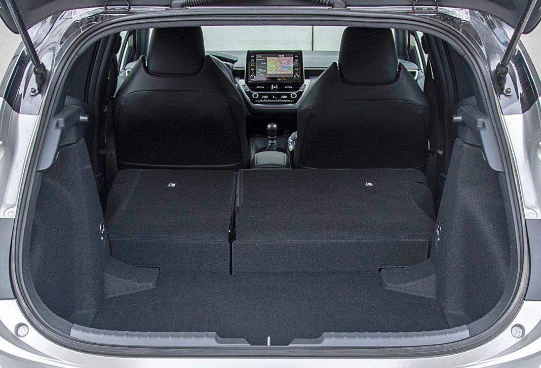 Toyota Corolla – bagażnik