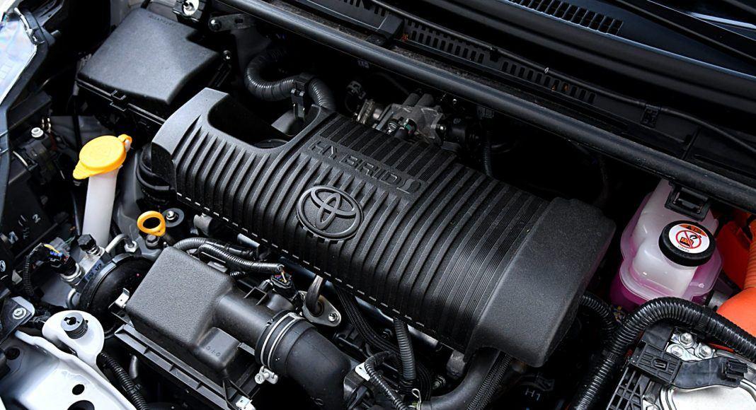 Toyota Yaris Hybrid GR Sport - silnik