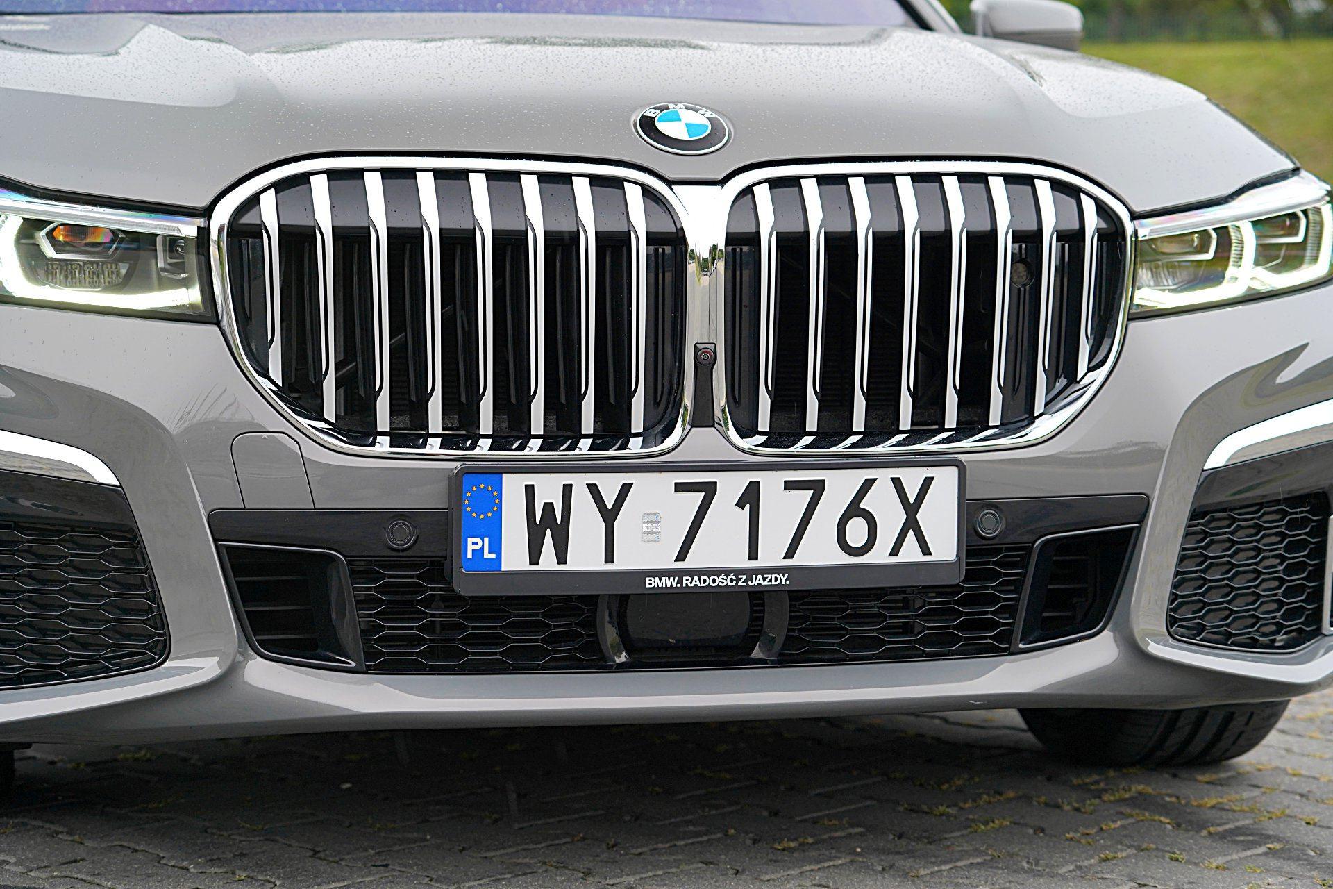 BMW 745Le G12 FL Plug-In Hybrid 3.0T grill