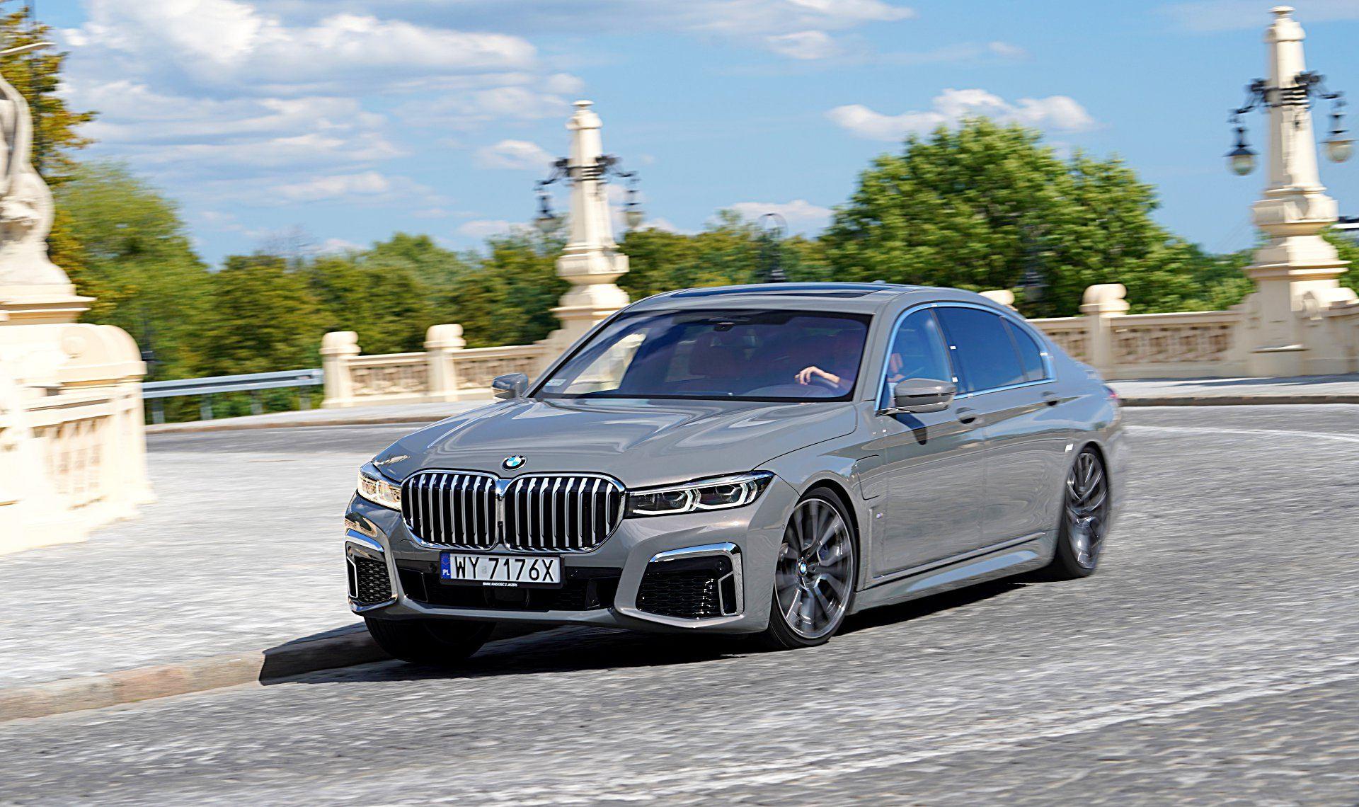 BMW 745Le G12 FL Plug-In Hybrid 3.0T przód