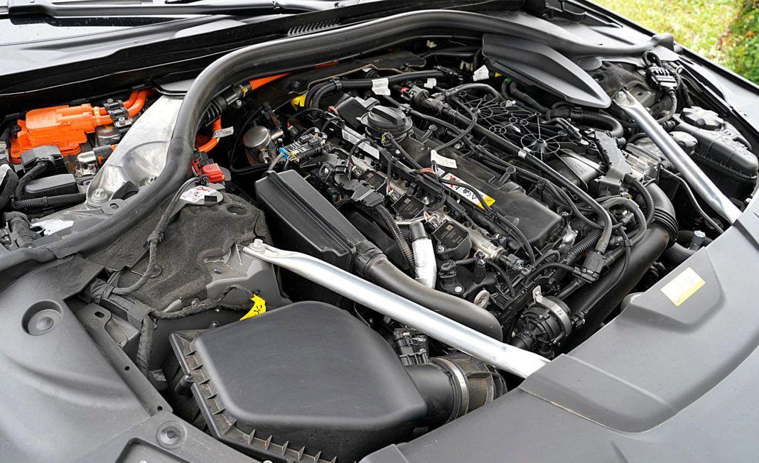 BMW 745Le xDrive – silnik