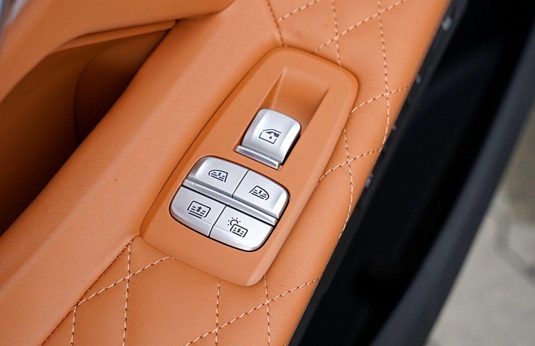BMW 745Le G12 FL Plug-In Hybrid 3.0T sterowanie roletami