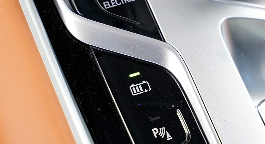 BMW 745Le G12 FL Plug-In Hybrid 3.0T tryb battery control