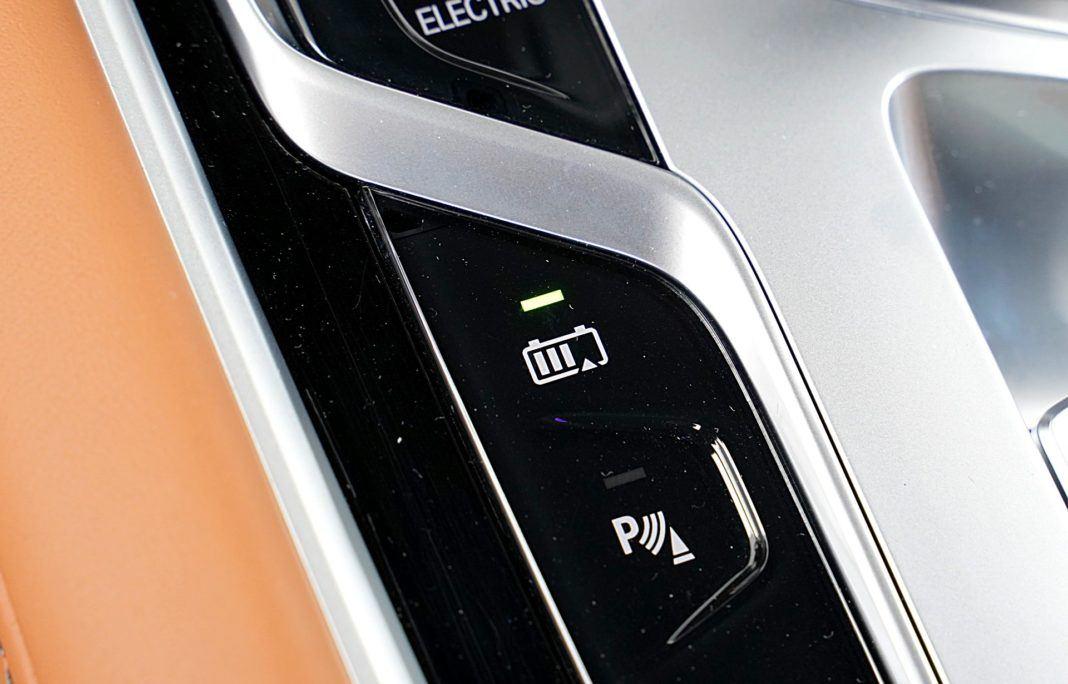 BMW 745Le G12 FL Plug-In Hybrid 3.0T tryb battery control