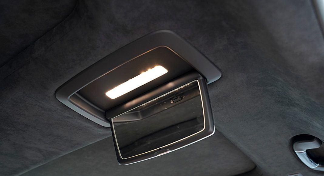 BMW 745Le G12 FL Plug-In Hybrid 3.0T lusterka z tyłu