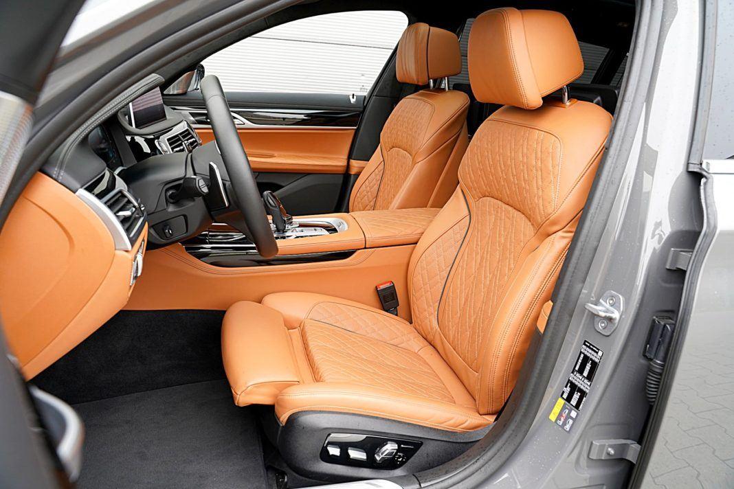 BMW 745Le xDrive – fotele z przodu