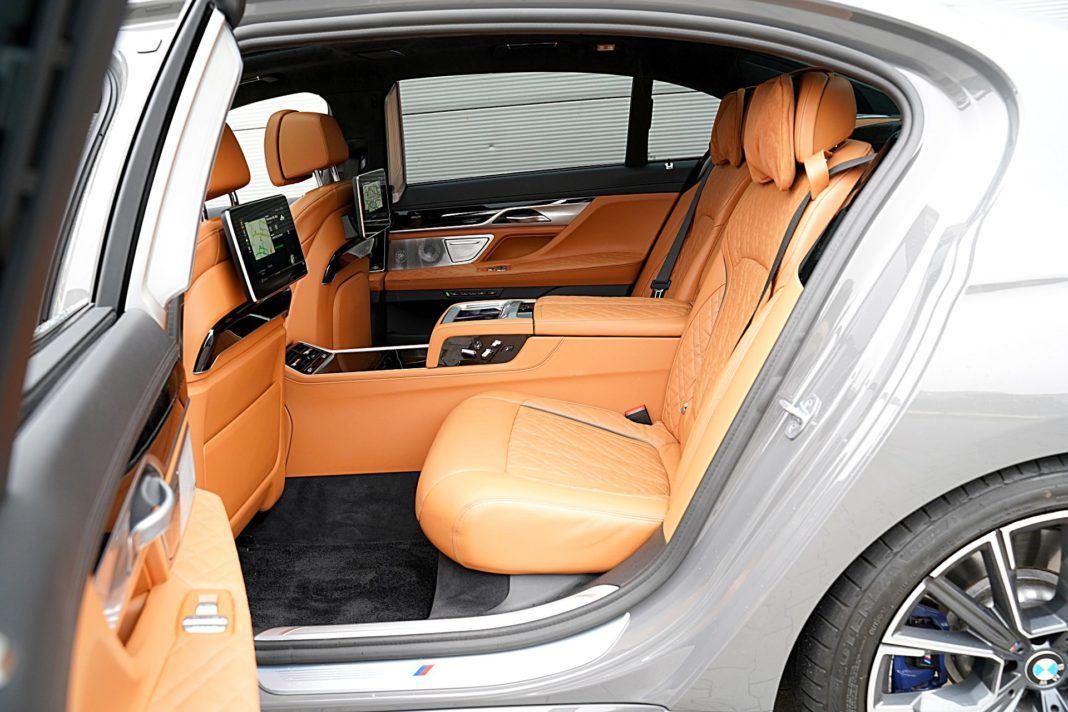 BMW 745Le xDrive – fotele z tyłu