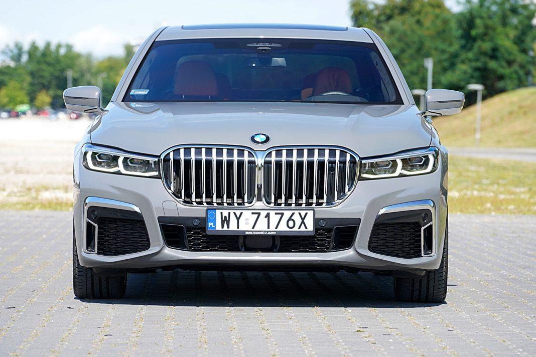 BMW 745Le xDrive – przód