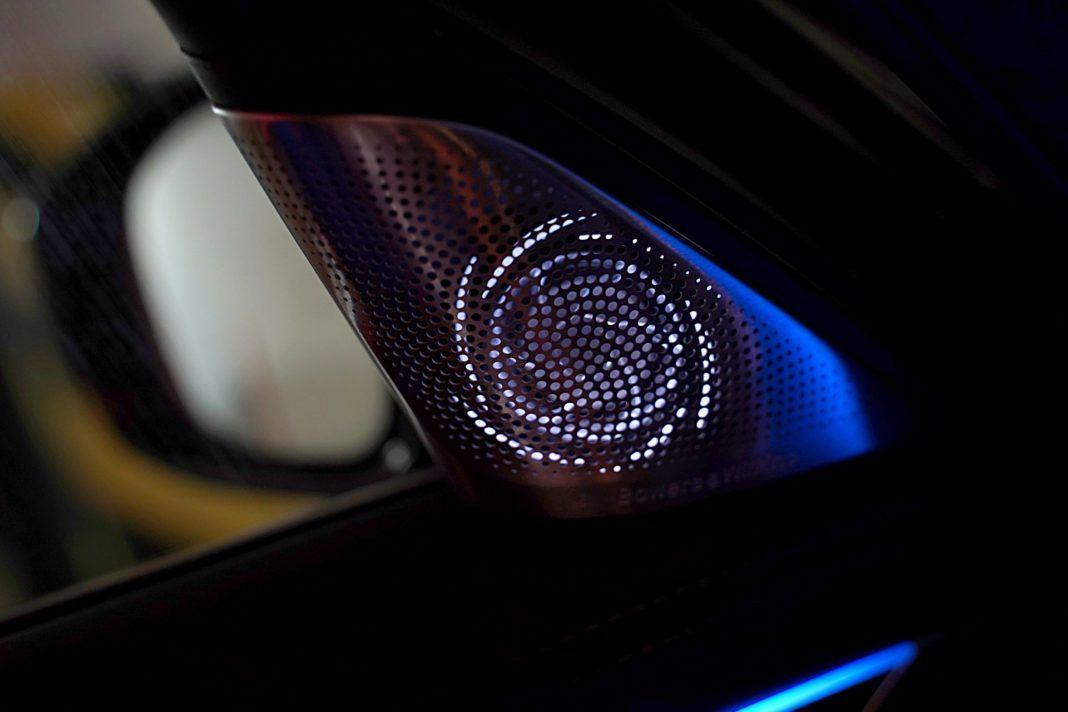 BMW 745Le G12 FL Plug-In Hybrid 3.0T podświetlenie głośników
