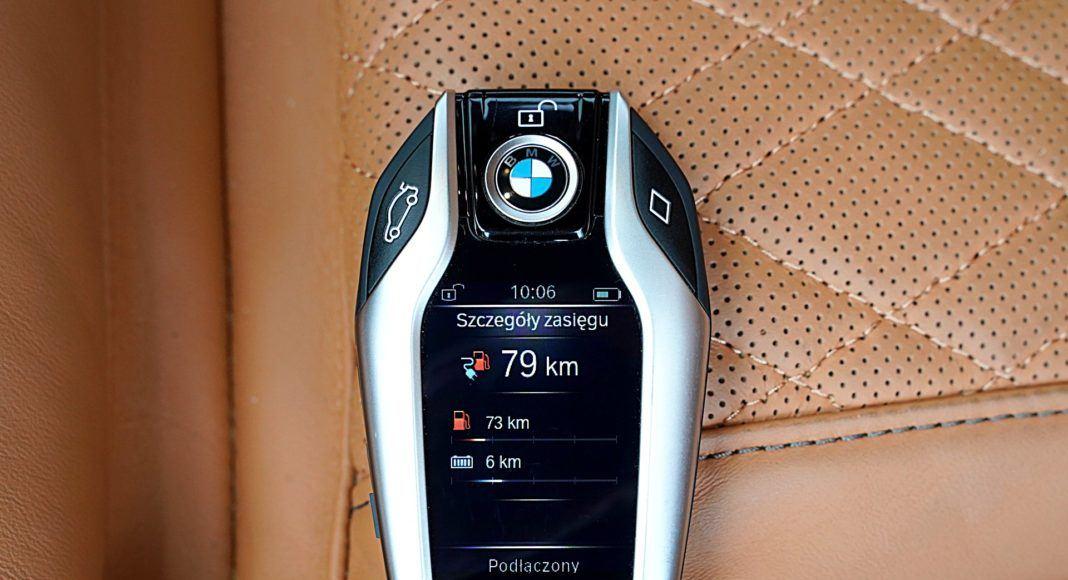 BMW 745Le G12 FL Plug-In Hybrid 3.0T pilot