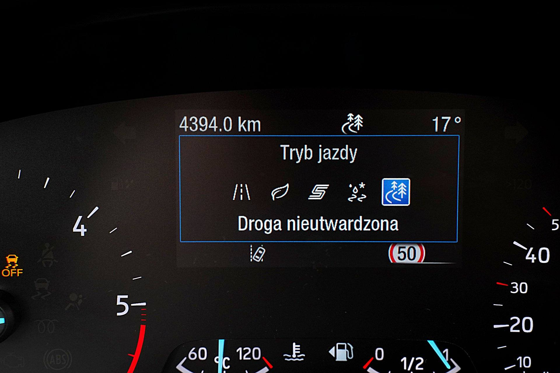 FORD Focus IV Kombi Active 2.0EcoBlue tryby jazdy