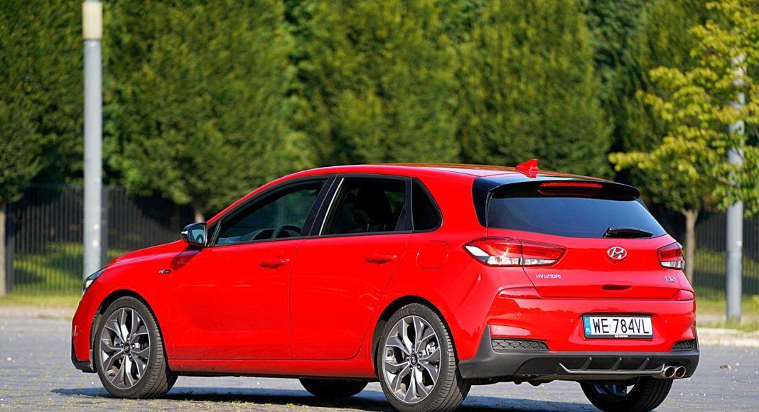 Hyundai i30 – tył