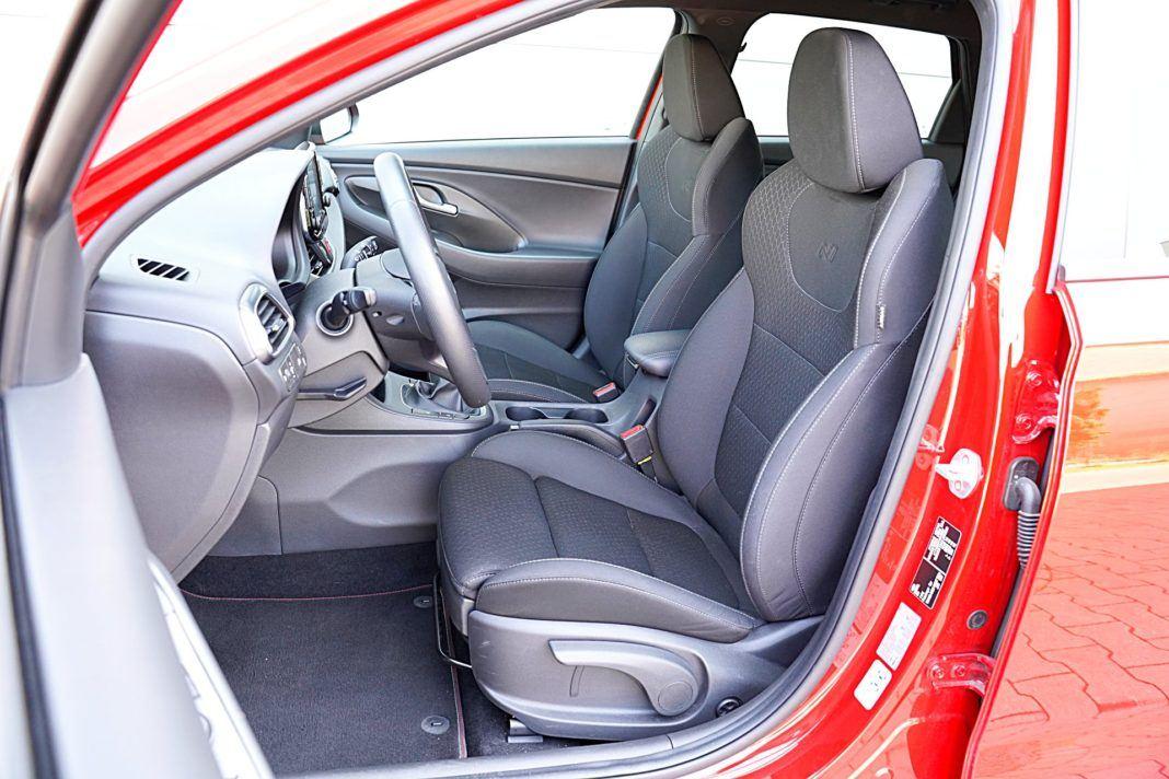 Hyundai i30 – fotele