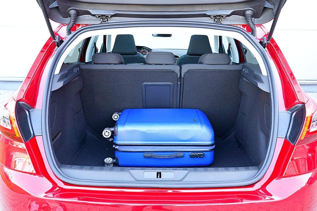 Peugeot 308 – bagażnik