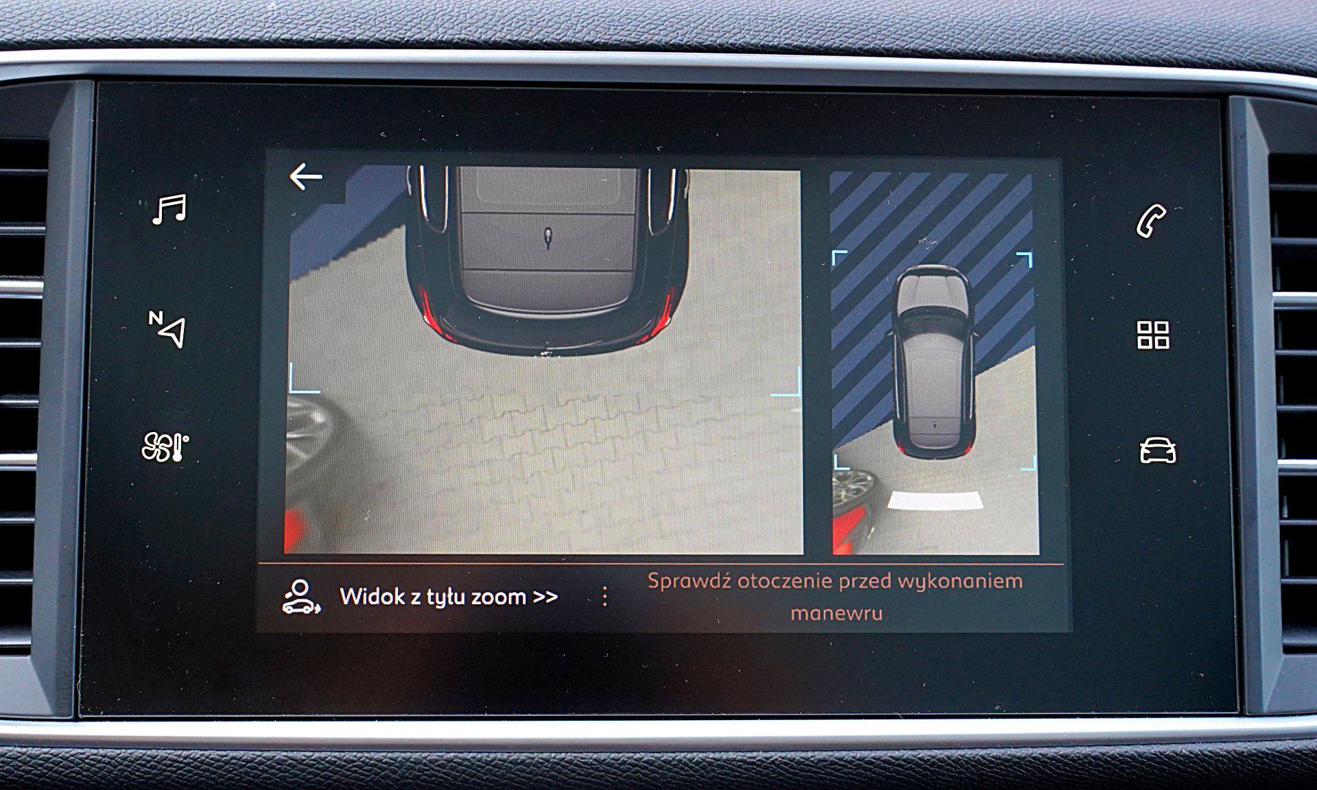 PEUGEOT 308 II FL Allure 1.2PureTech asystent parkowania