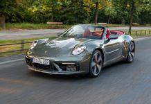 PORSCHE 911 992 Carrera 4S Cabriolet 3.0T przód jazda