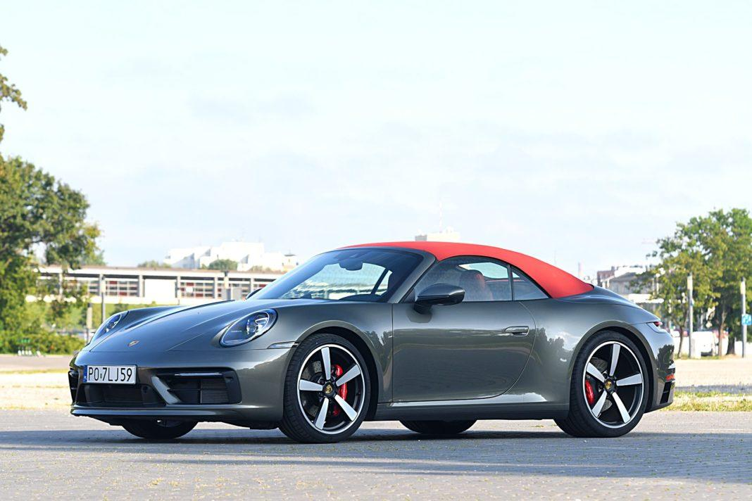 Porsche 911 Carrera 4S Cabriolet – przód