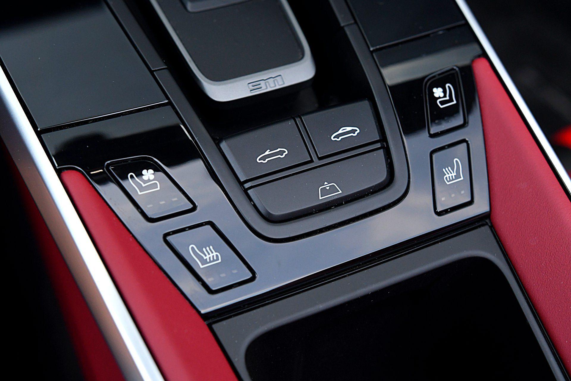 PORSCHE 911 992 Carrera 4S Cabriolet 3.0T sterowanie dachem