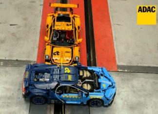 Crash test Bugatti Chiron i Porsche 911 GT3 RS. ADAC poszedł na całość