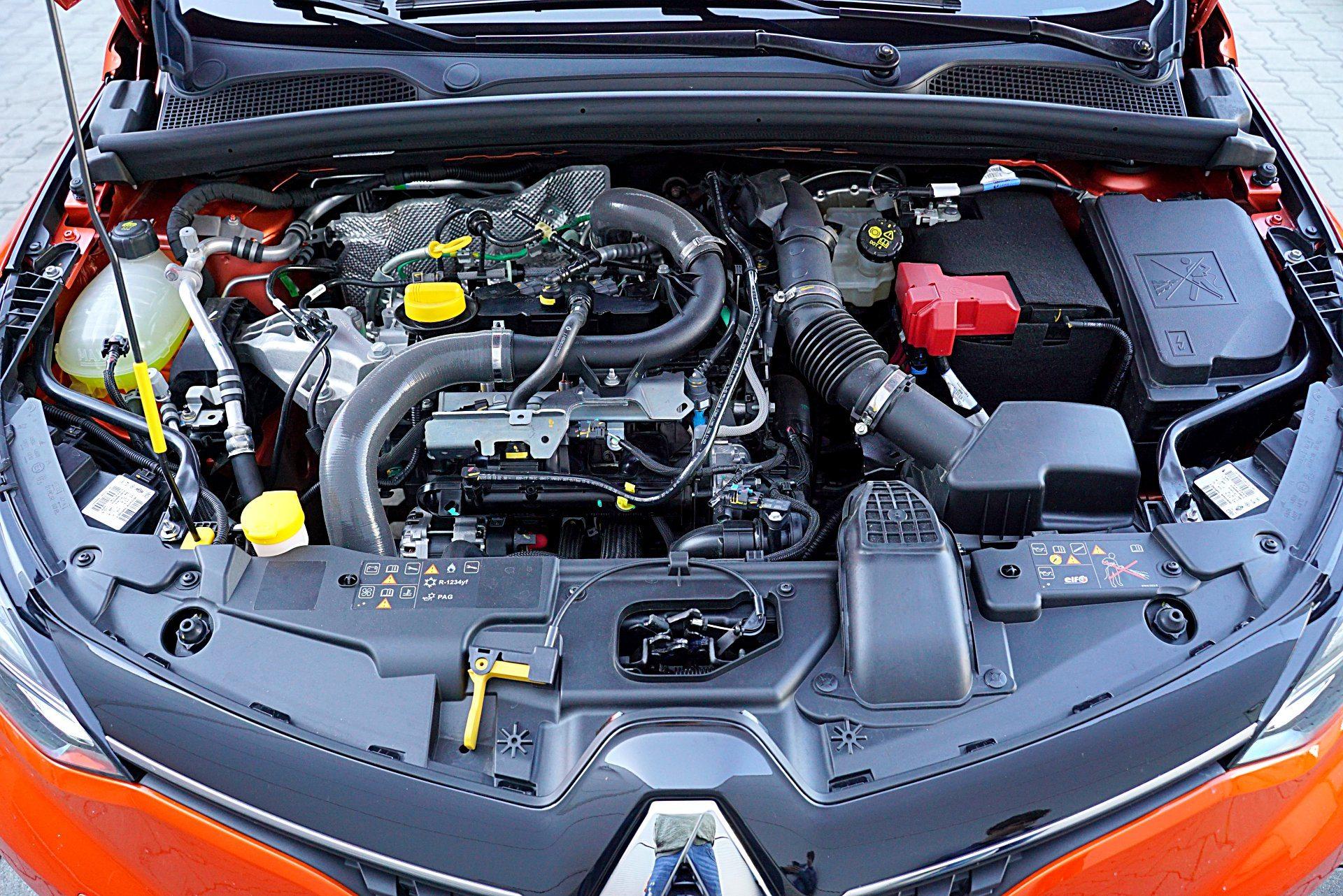 RENAULT Clio V Intens 1.0TCe 100KM silnik