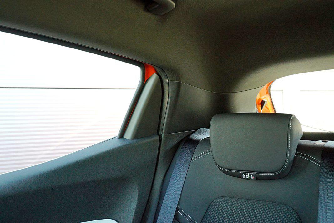 Renault Clio 1.0 TCe 100 Intens – widoczność do tyłu