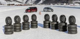 Test opon zimowych 205_55 R16 15