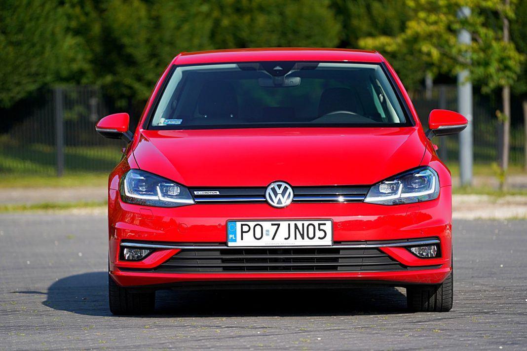 Volkswagen Golf – przód