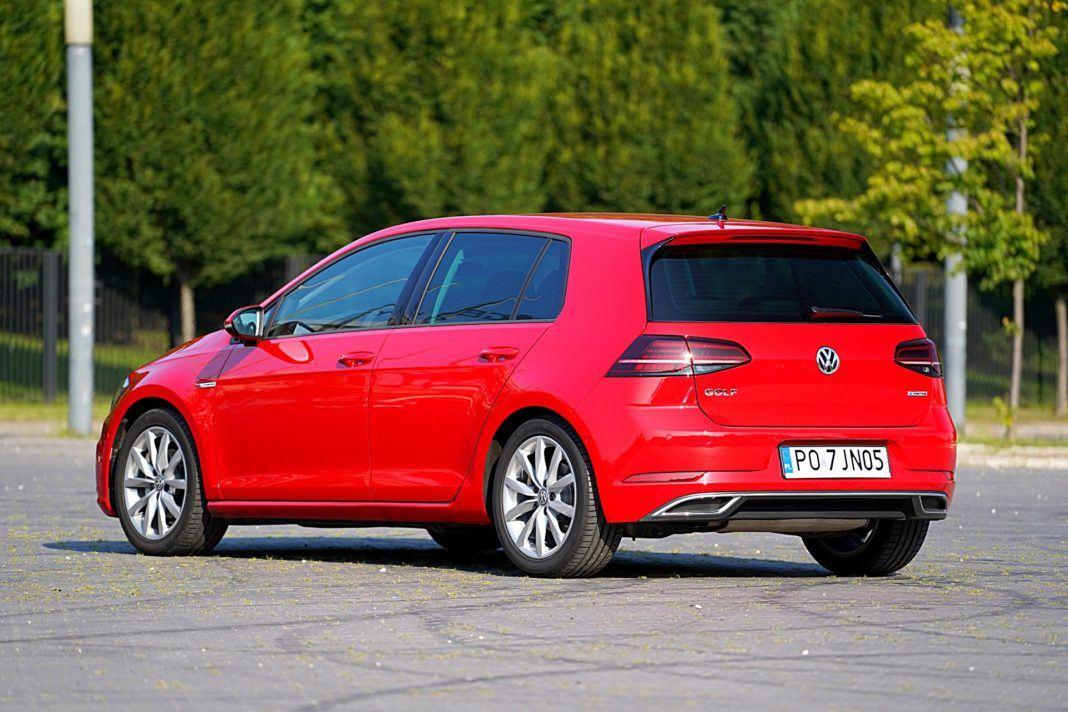 Volkswagen Golf – tył