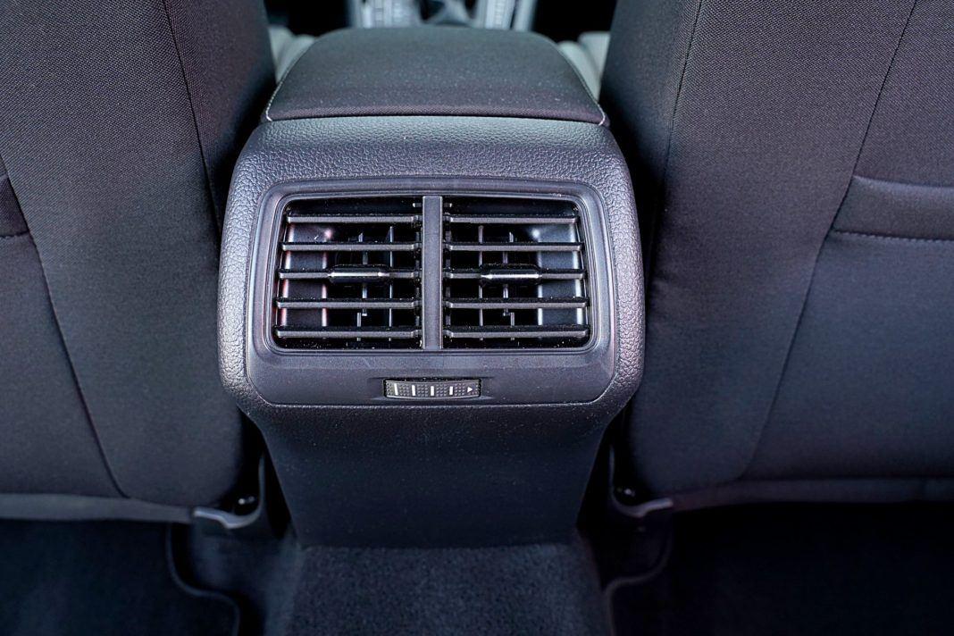 Volkswagen Golf – nawiewy