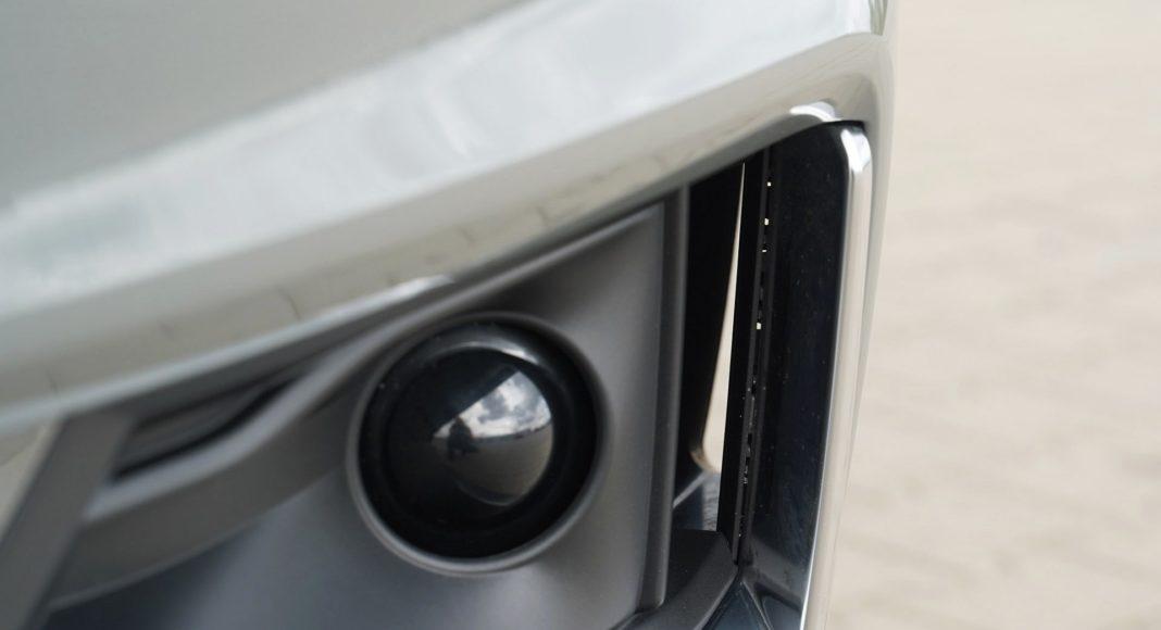 Audi A4 allroad 45 TFSI quattro S tronic - kurtyny powietrzne w zderzaku (poprawiają aerodynamikę) i radar systemów wsparcia