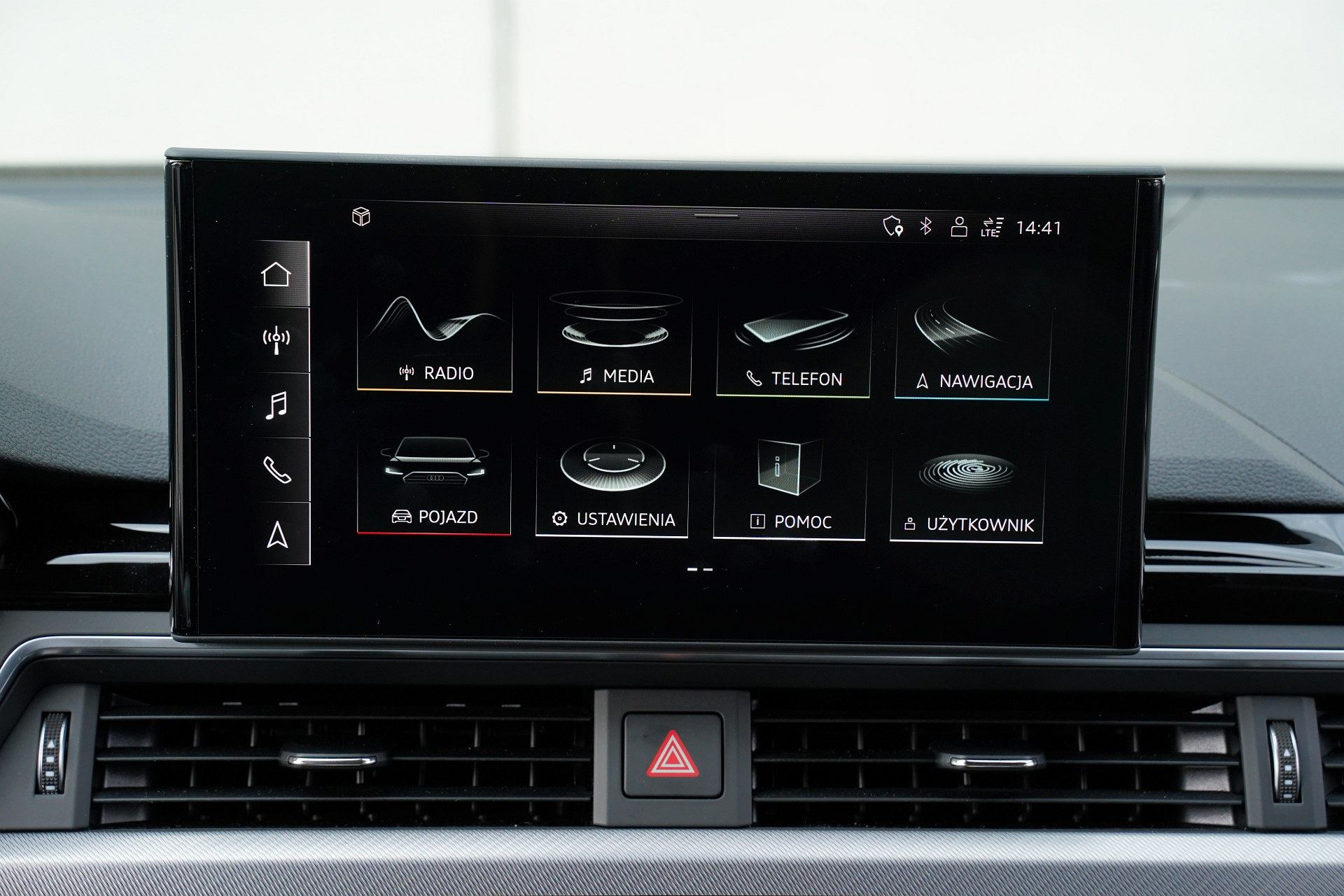 Audi A4 allroad quattro - system multimedialny