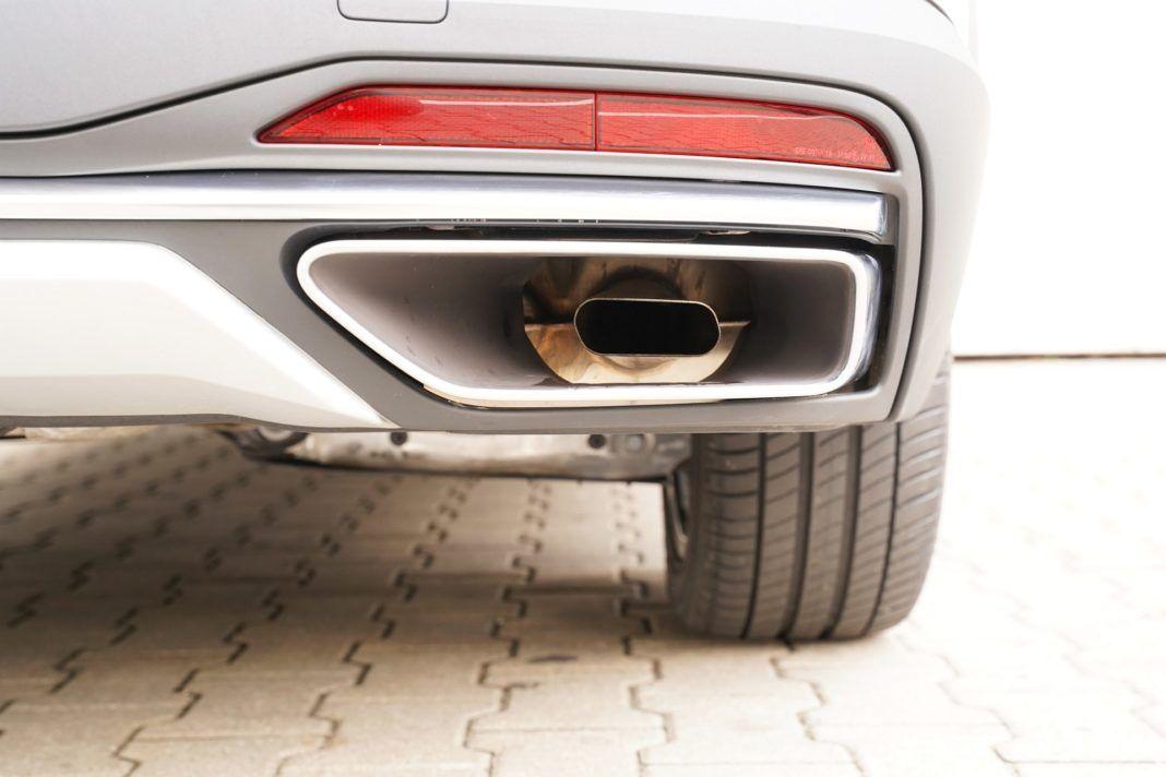 "Audi A4 allroad 45 TFSI quattro S tronic - ""prawdziwe"" rury wydechowe"