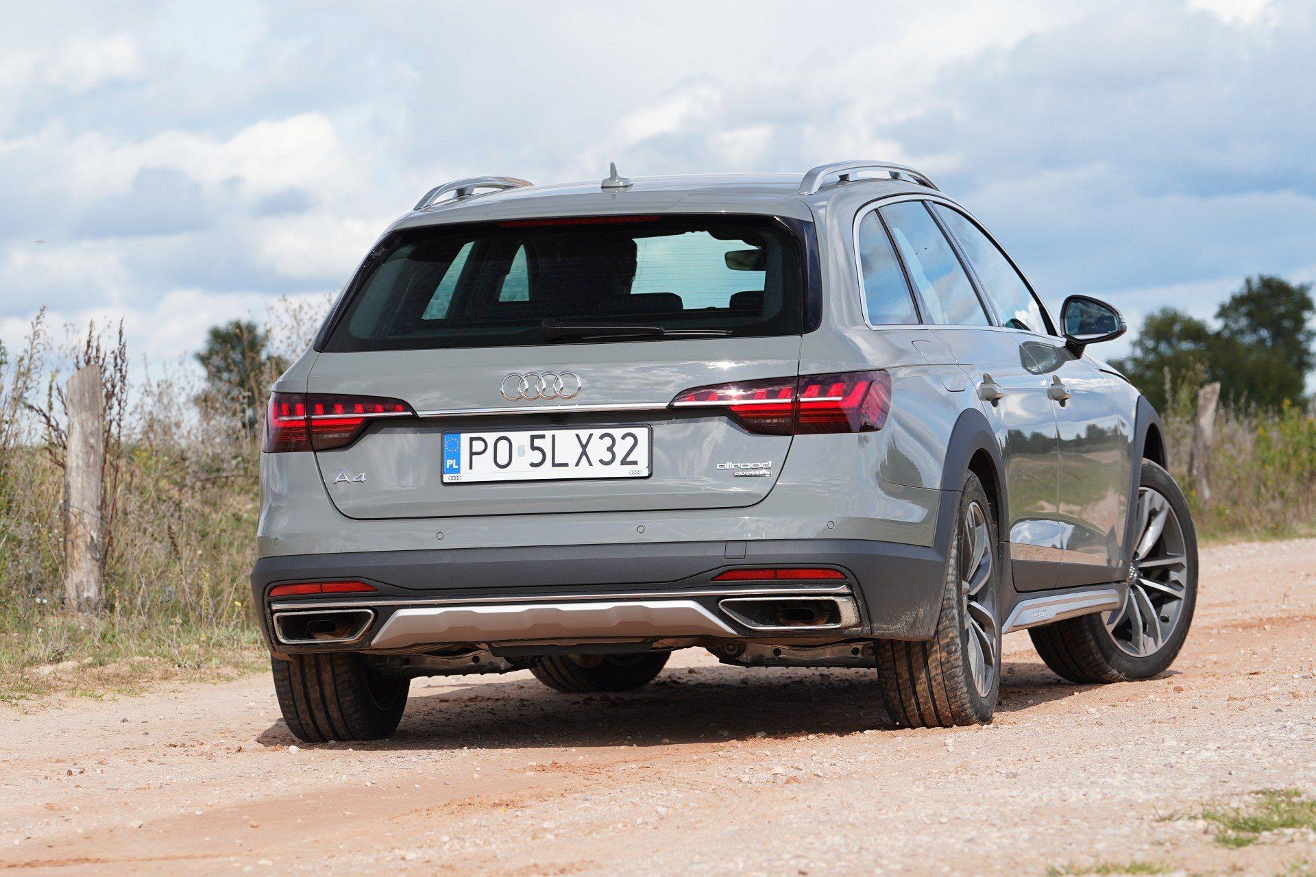 Audi A4 allroad quattro - tył