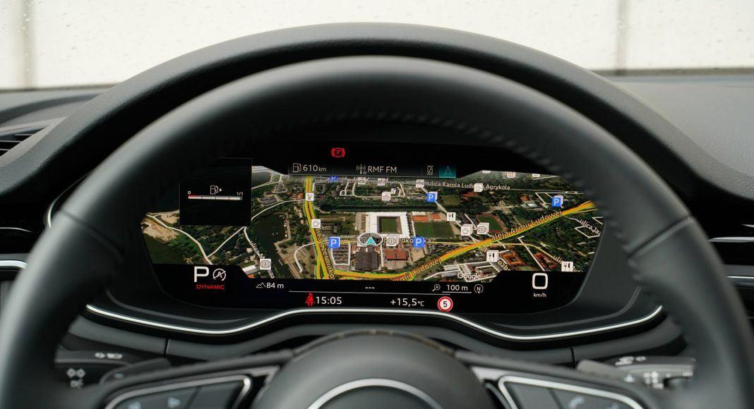 Audi A4 allroad 45 TFSI quattro S tronic - cyfrowe zegary