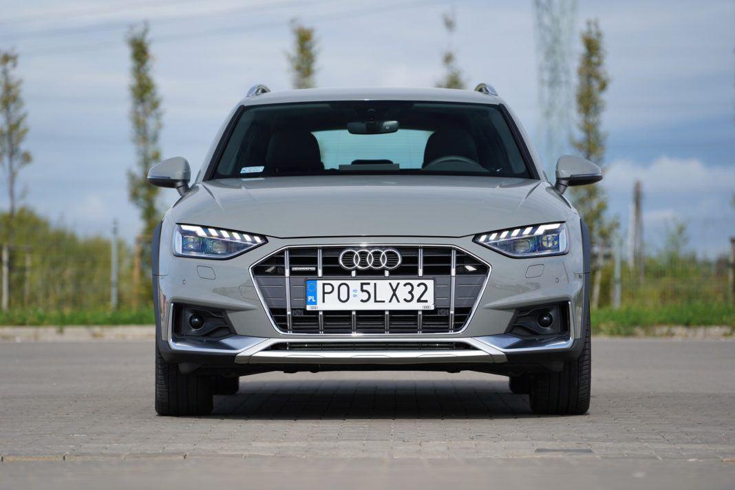 Audi A4 allroad 45 TFSI quattro S tronic - przód