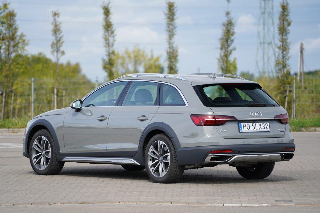 Audi A4 allroad 45 TFSI quattro S tronic - tył