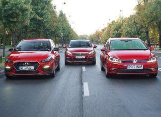 Hyundai i30, Peugeot 308, Volkswagen Golf – PORÓWNANIE