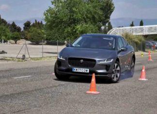 Jaguar I-Pace oblał test łosia