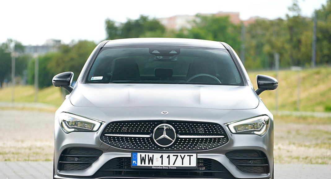 Mercedes CLA – przód