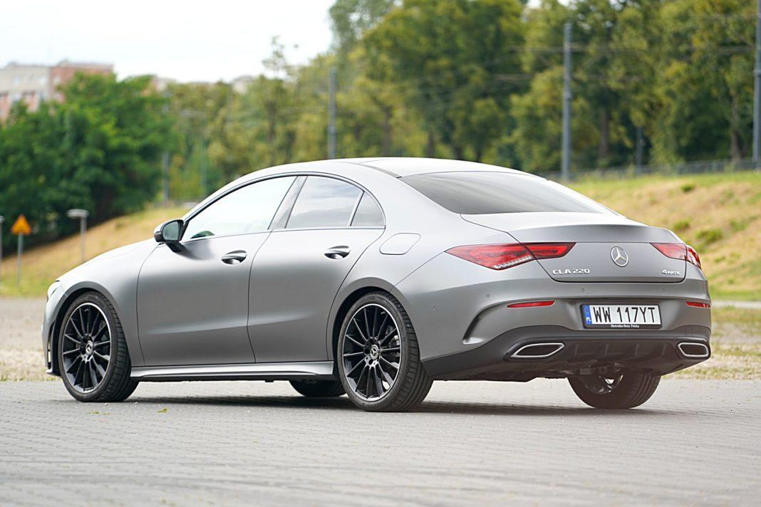 Mercedes CLA – tył
