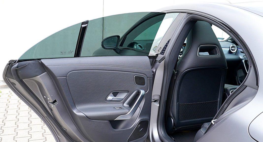 Mercedes CLA – drzwi