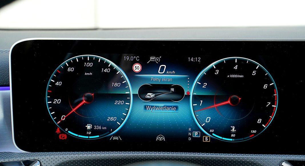 Mercedes CLA – wskaźniki