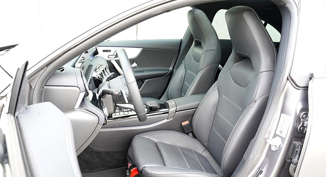 Mercedes CLA – fotele