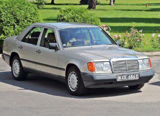 Nietypowe rozwiązanie w Mercedesie W124. Tego się nie spodziewałeś!