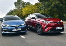 TOYOTA C-HR - TOYOTA Auris Touring Sports