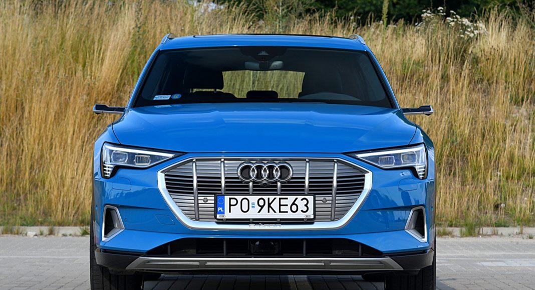 Audi e-tron 55 quattro advanced – przód