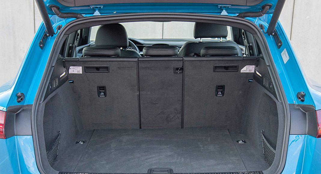 Audi e-tron 55 quattro advanced – bagażnik
